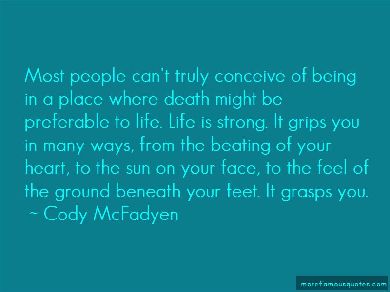 Cody McFadyen Quotes Pictures 4
