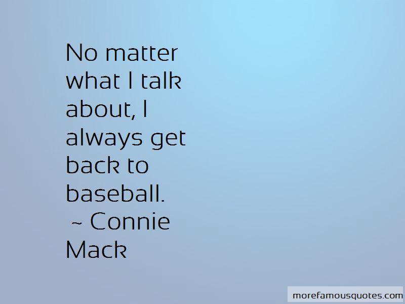 Connie Mack Quotes Pictures 2