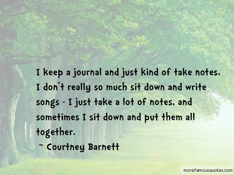 Courtney Barnett Quotes Pictures 3