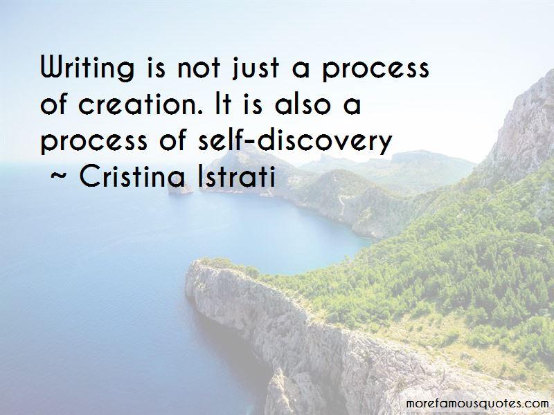 Cristina Istrati Quotes