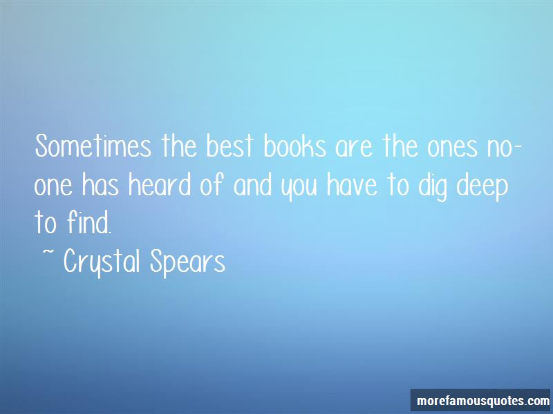 Crystal Spears Quotes Pictures 3