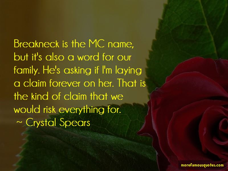 Crystal Spears Quotes