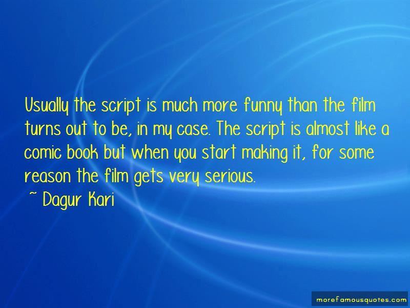 Dagur Kari Quotes Pictures 2