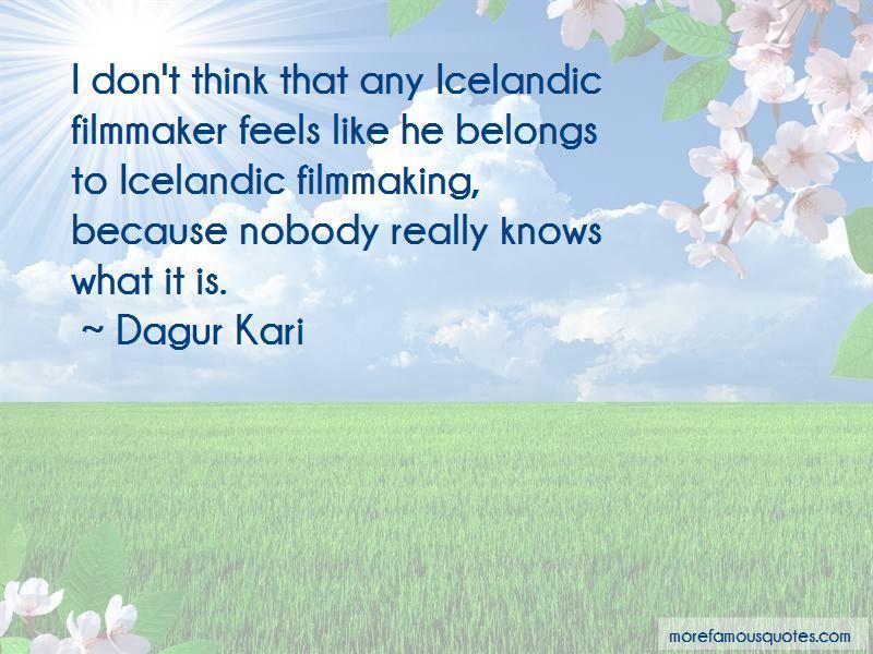 Dagur Kari Quotes Pictures 4