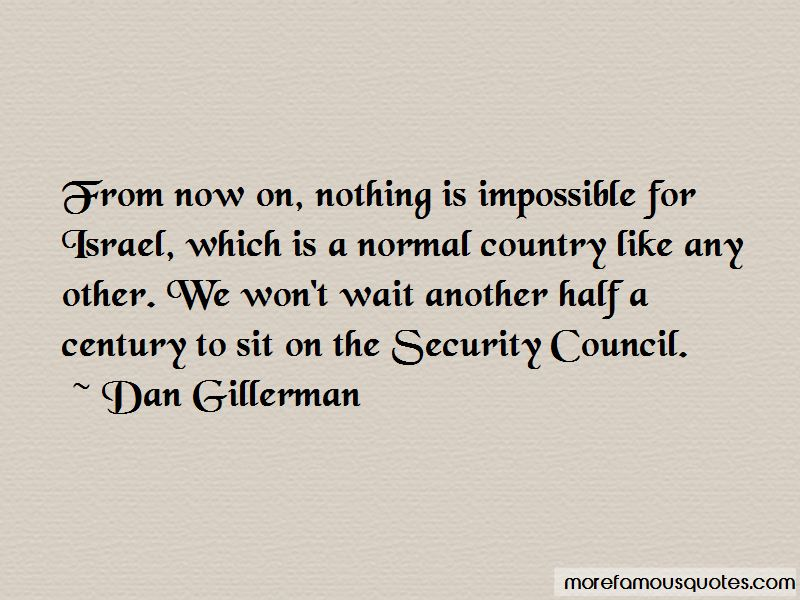 Dan Gillerman Quotes Pictures 2