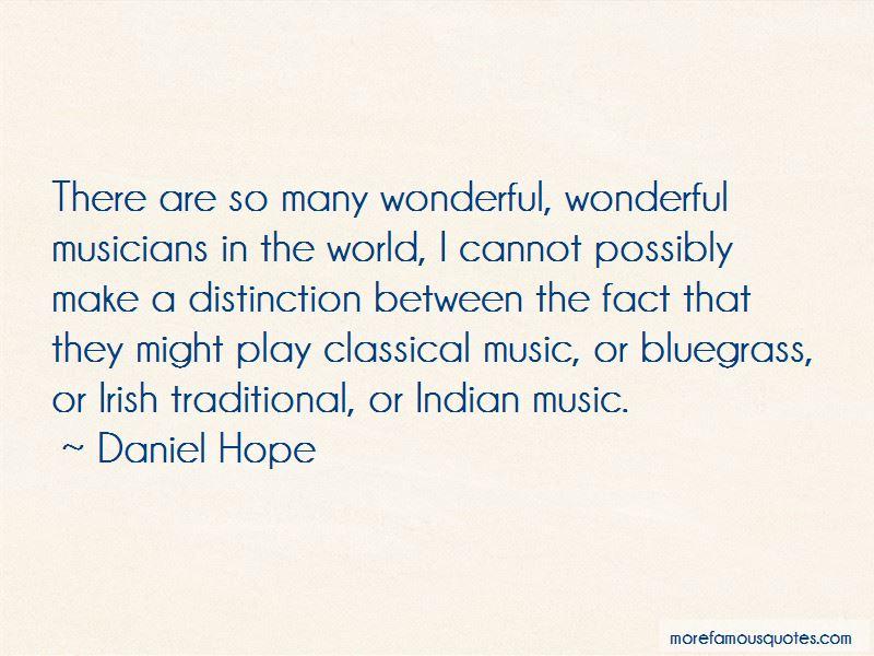 Daniel Hope Quotes