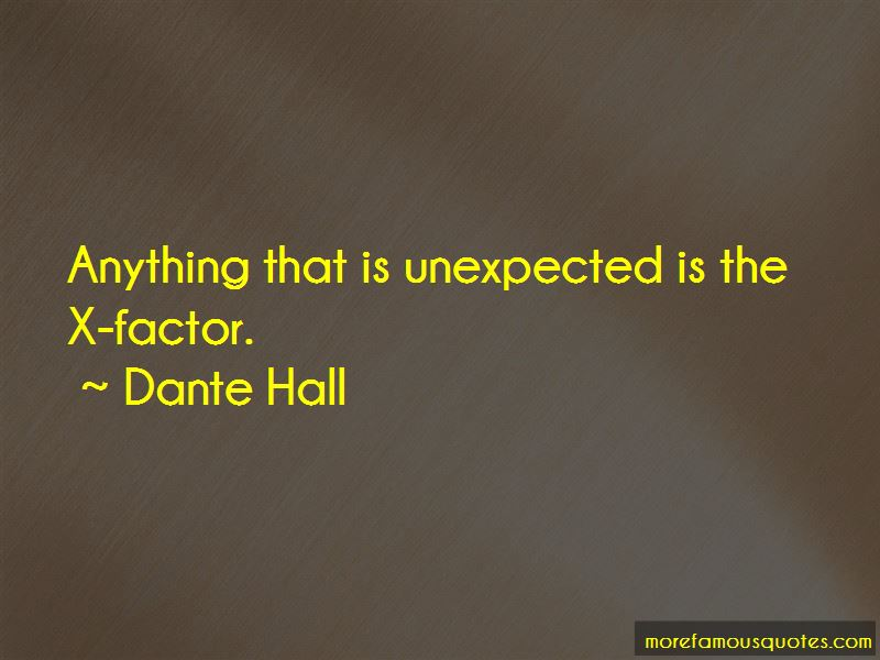 Dante Hall Quotes Pictures 3