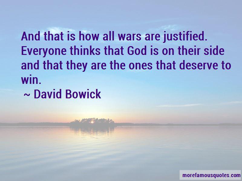 David Bowick Quotes