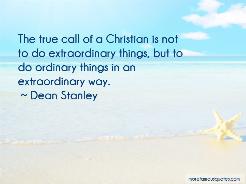 Dean Stanley Quotes Pictures 3