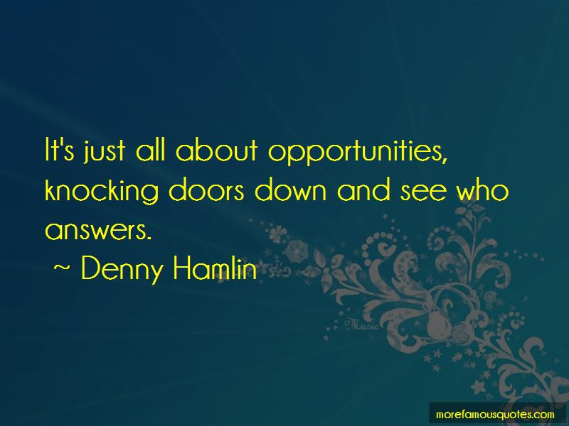 Denny Hamlin Quotes Pictures 3