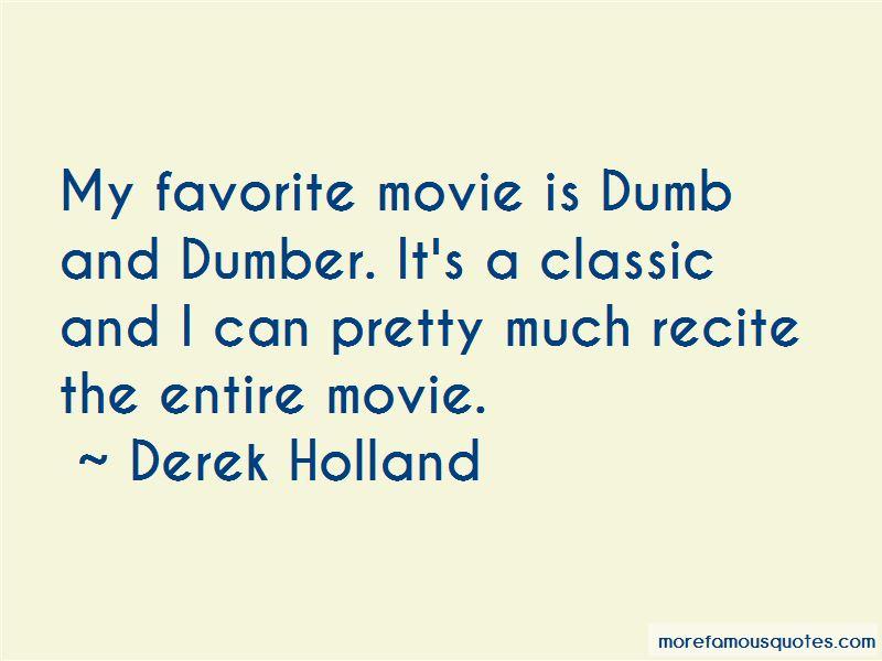 Derek Holland Quotes