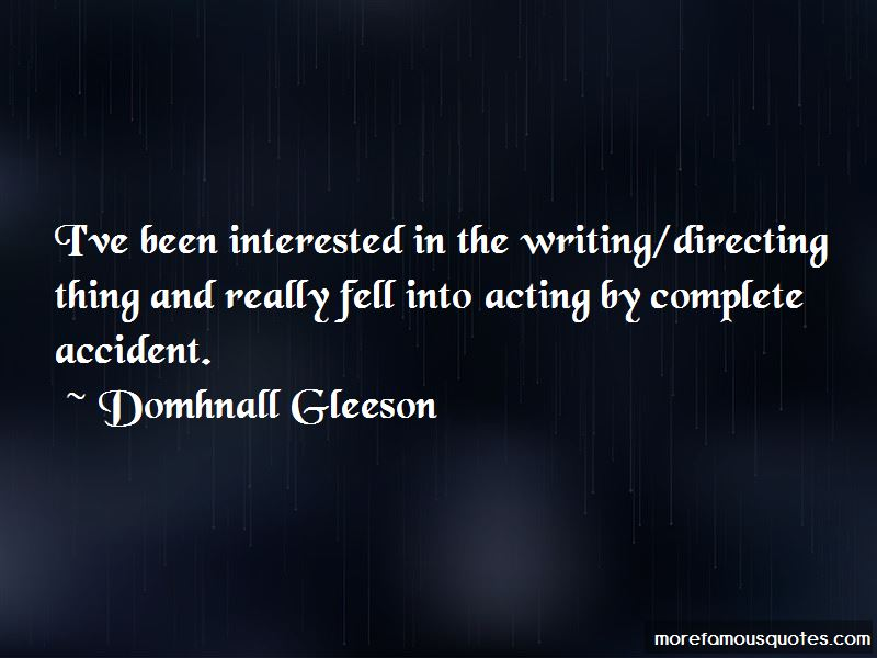 Domhnall Gleeson Quotes Pictures 2