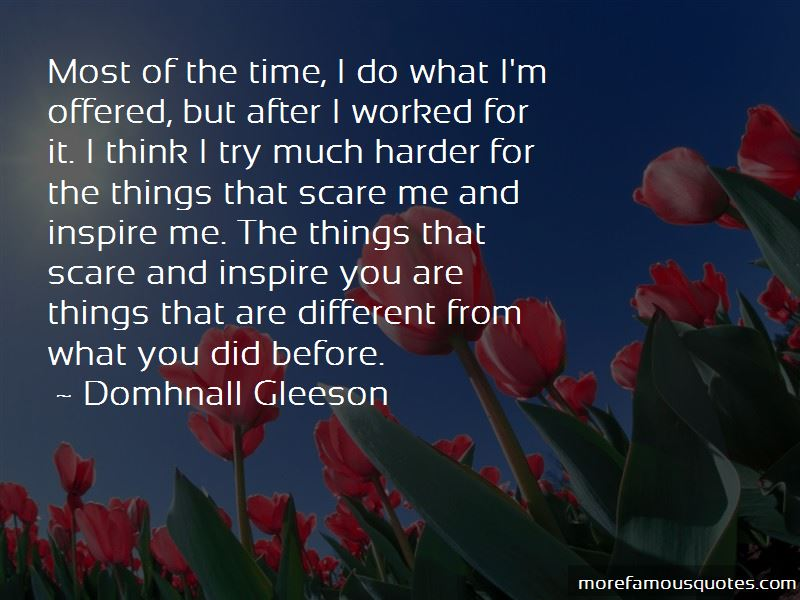 Domhnall Gleeson Quotes Pictures 3