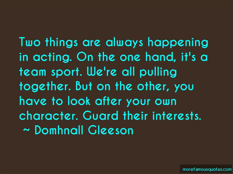 Domhnall Gleeson Quotes Pictures 4