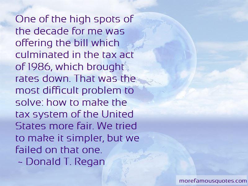 Donald T. Regan Quotes Pictures 4