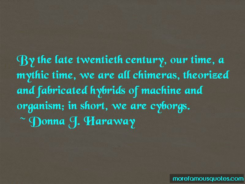 Donna J. Haraway Quotes