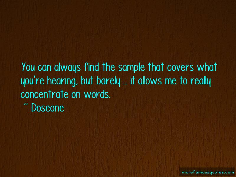Doseone Quotes Pictures 4