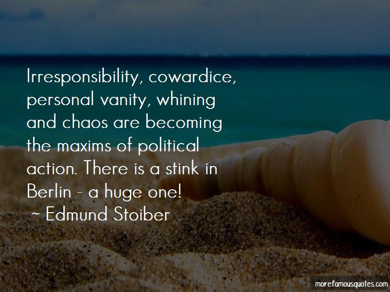 Edmund Stoiber Quotes