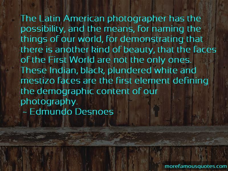 Edmundo Desnoes Quotes