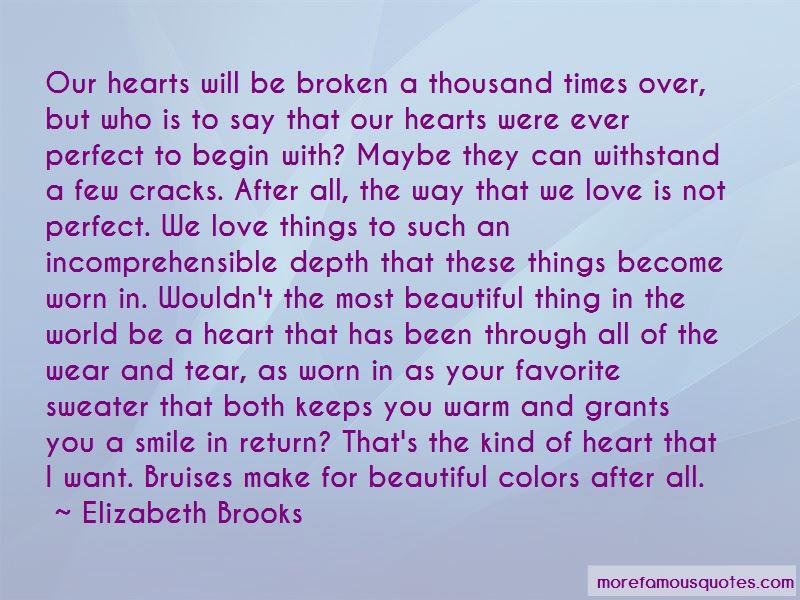 Elizabeth Brooks Quotes Pictures 4