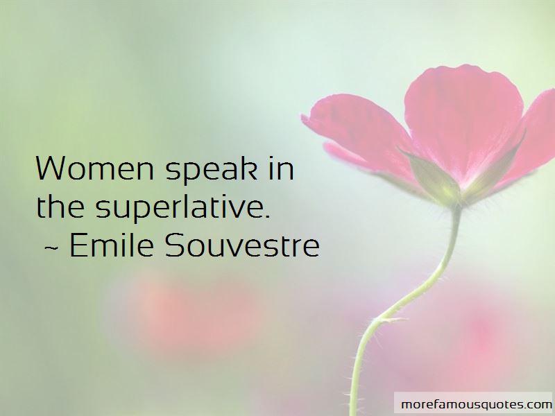 Emile Souvestre Quotes