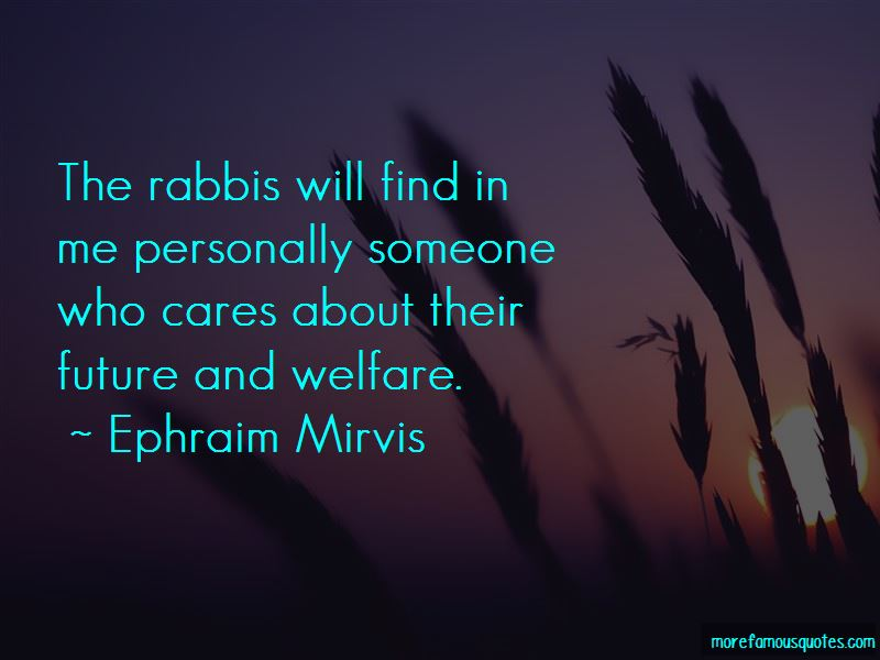 Ephraim Mirvis Quotes Pictures 4
