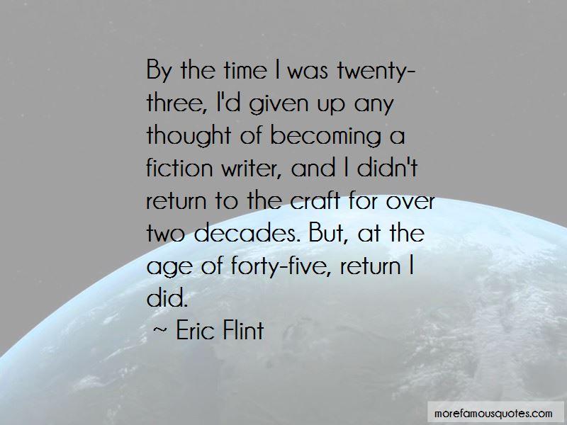 Eric Flint Quotes