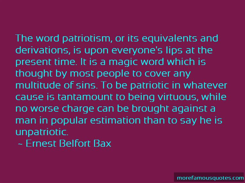 Ernest Belfort Bax Quotes Pictures 2