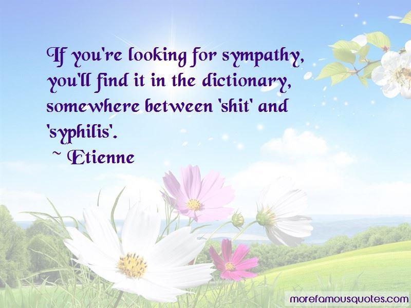 Etienne Quotes