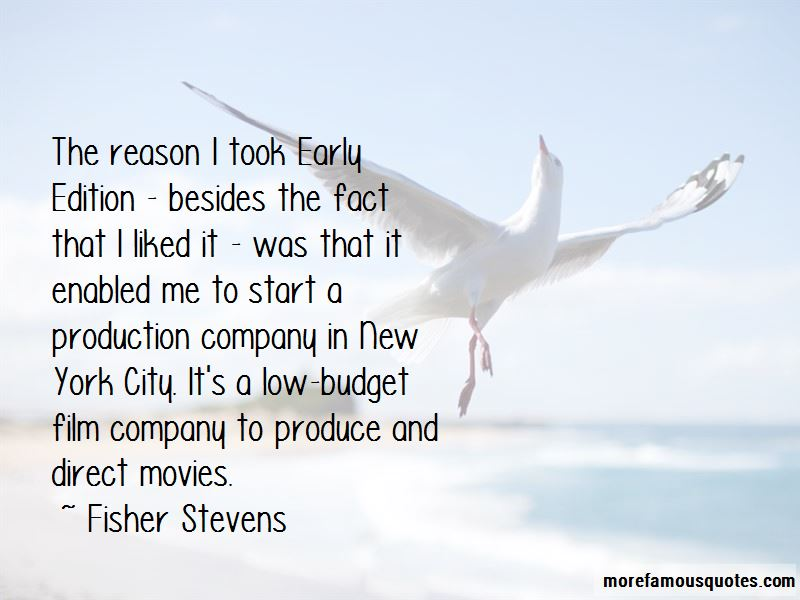 Fisher Stevens Quotes Pictures 2
