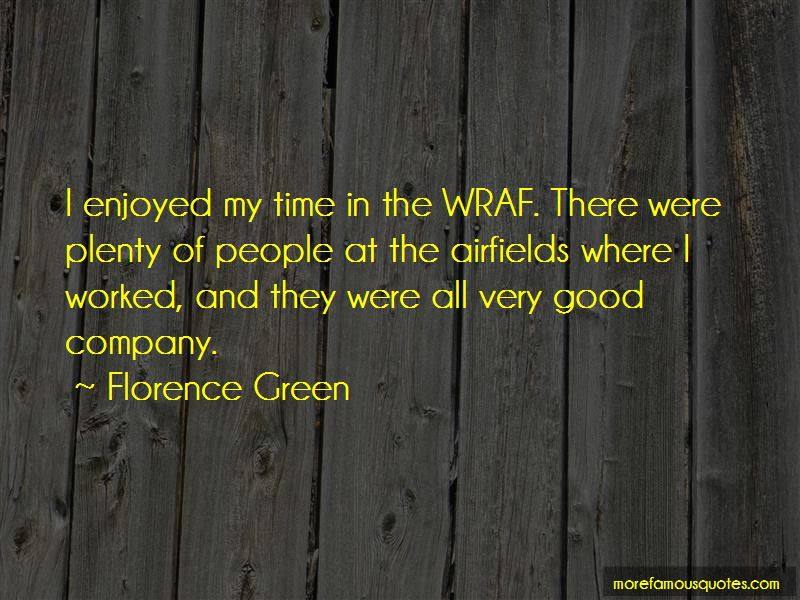 Florence Green Quotes