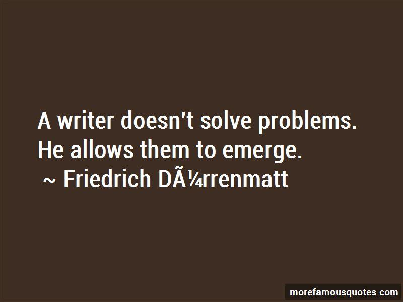 Friedrich-Durrenmatt Quotes Pictures 4