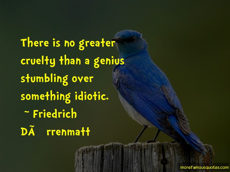Friedrich-Durrenmatt Quotes