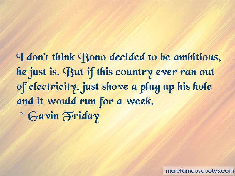 Gavin Friday Quotes Pictures 2