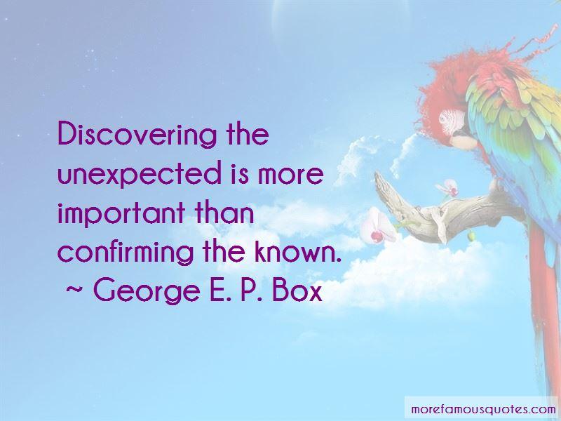 George E. P. Box Quotes Pictures 2
