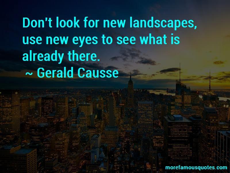 Gerald Causse Quotes Pictures 4