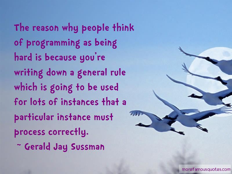 Gerald Jay Sussman Quotes Pictures 4