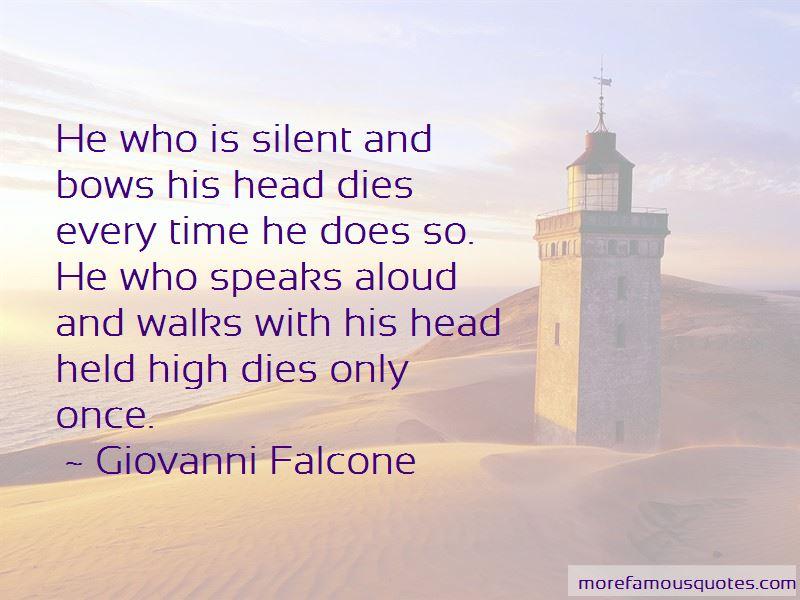 Giovanni Falcone Quotes