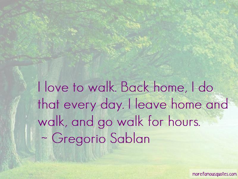 Gregorio Sablan Quotes