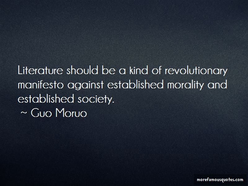 Guo Moruo Quotes Pictures 2