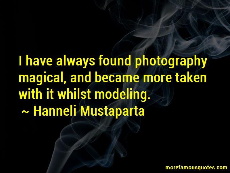 Hanneli Mustaparta Quotes Pictures 2