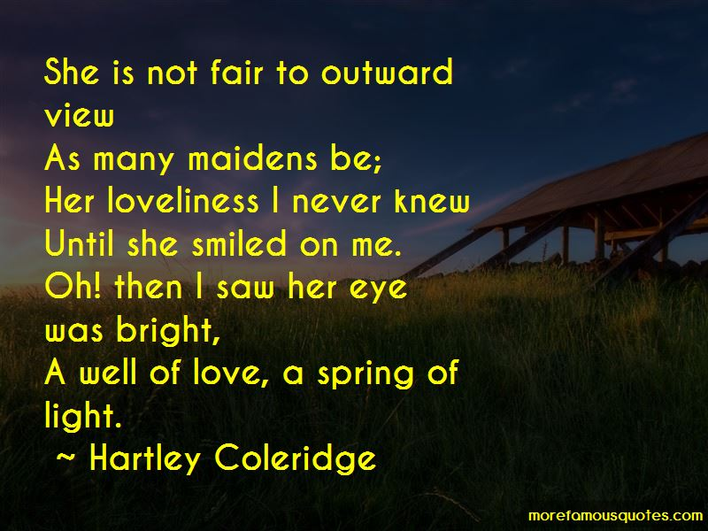 Hartley Coleridge Quotes