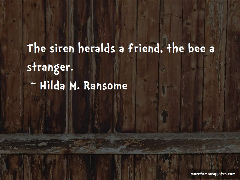 Hilda M. Ransome Quotes Pictures 2