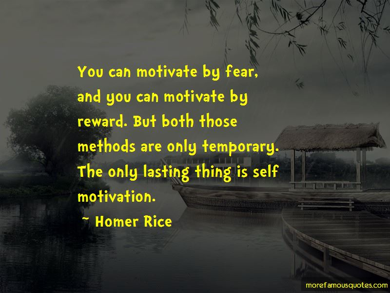Homer Rice Quotes
