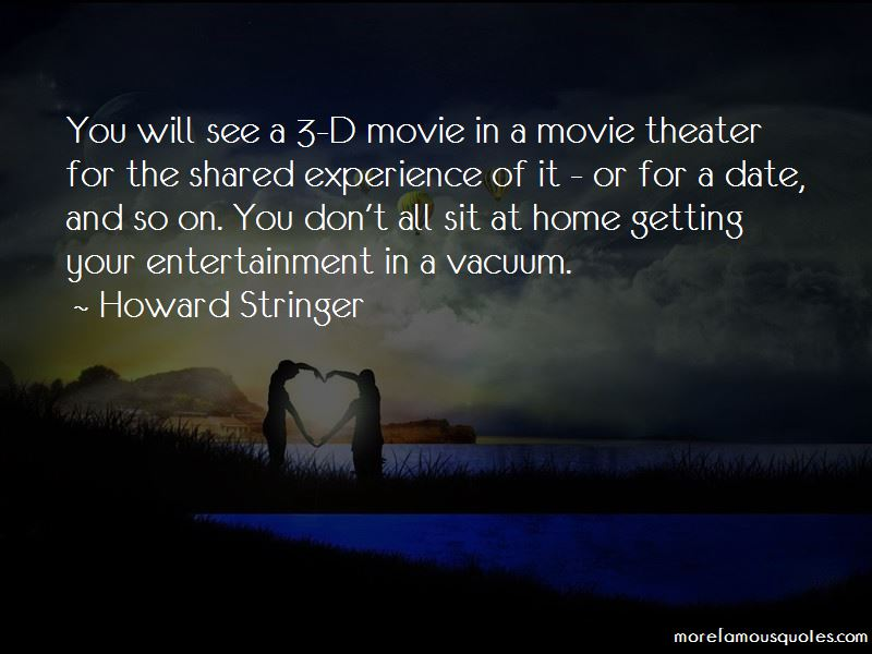 Howard Stringer Quotes Pictures 3