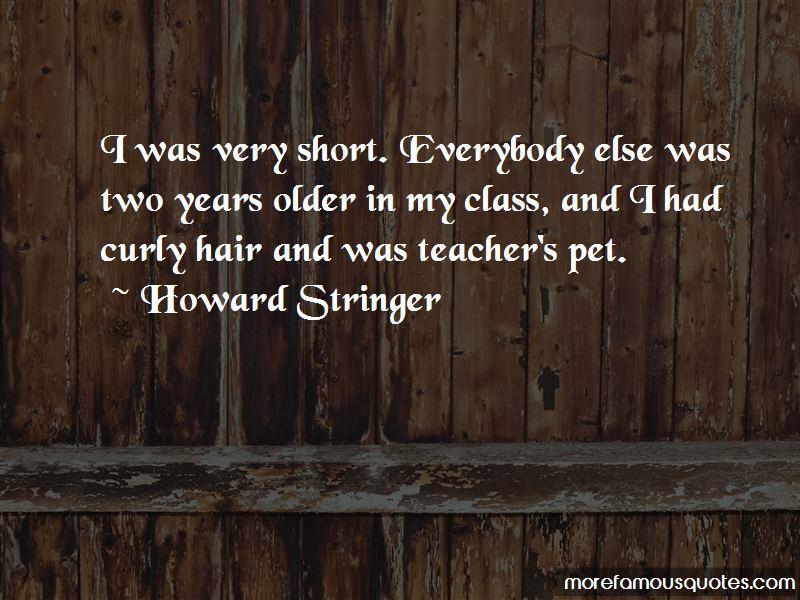Howard Stringer Quotes