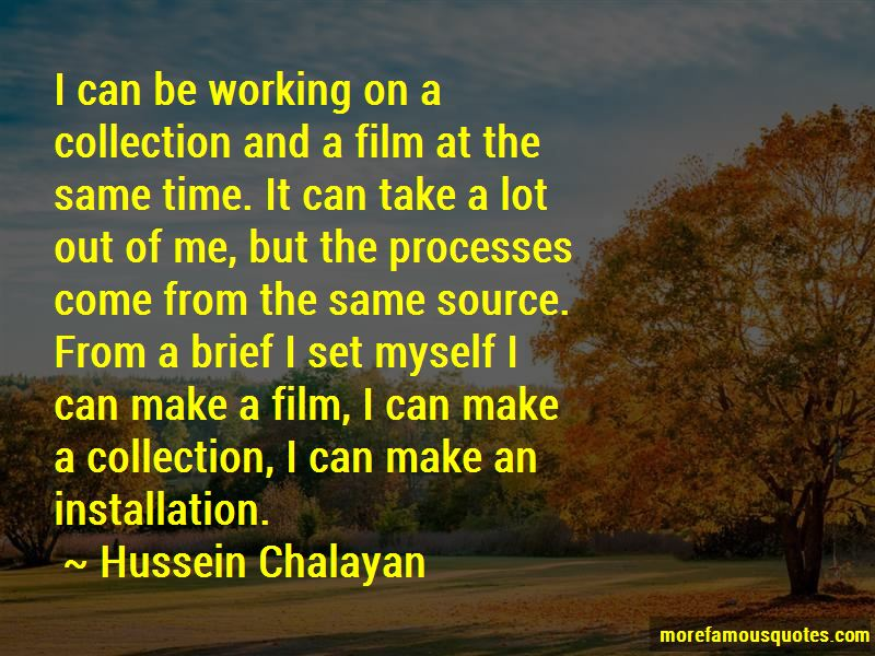Hussein Chalayan Quotes Pictures 3