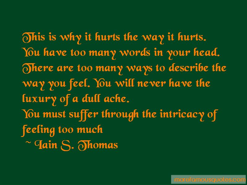 Iain S. Thomas Quotes Pictures 4