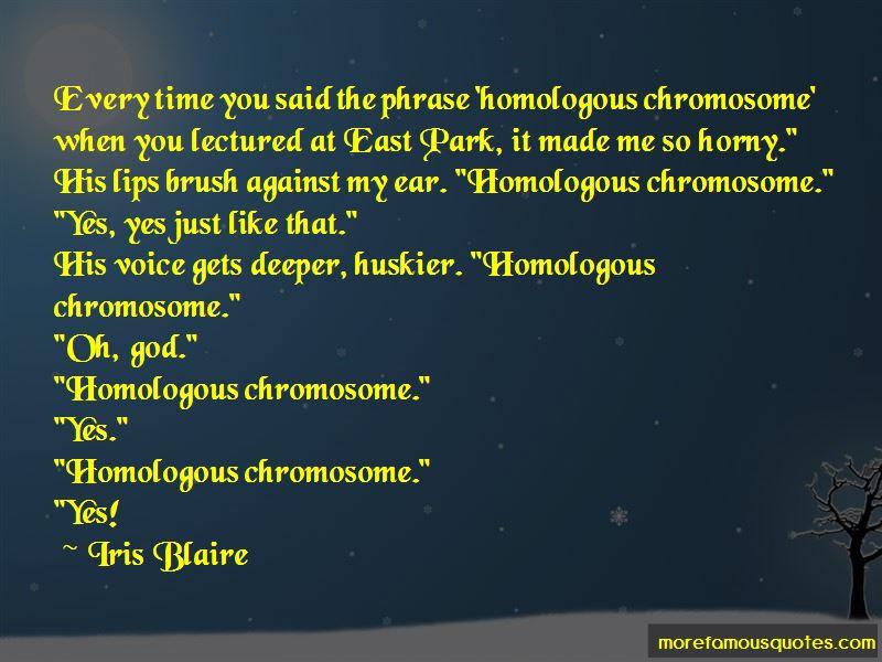 Iris Blaire Quotes