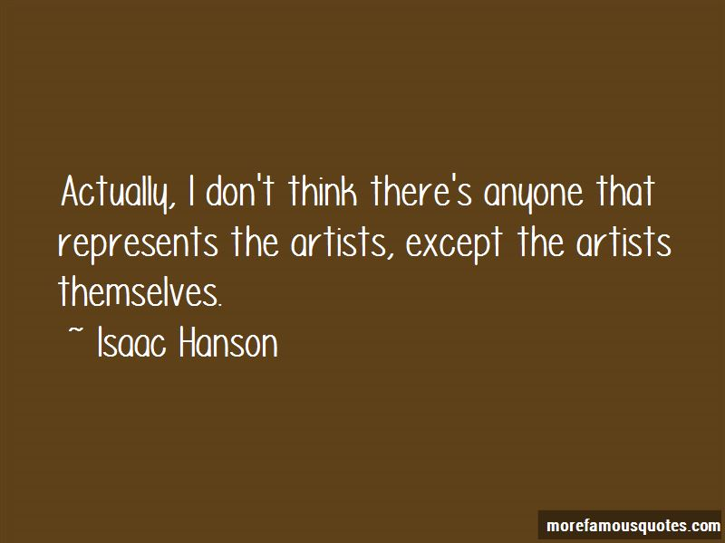 Isaac Hanson Quotes Pictures 3